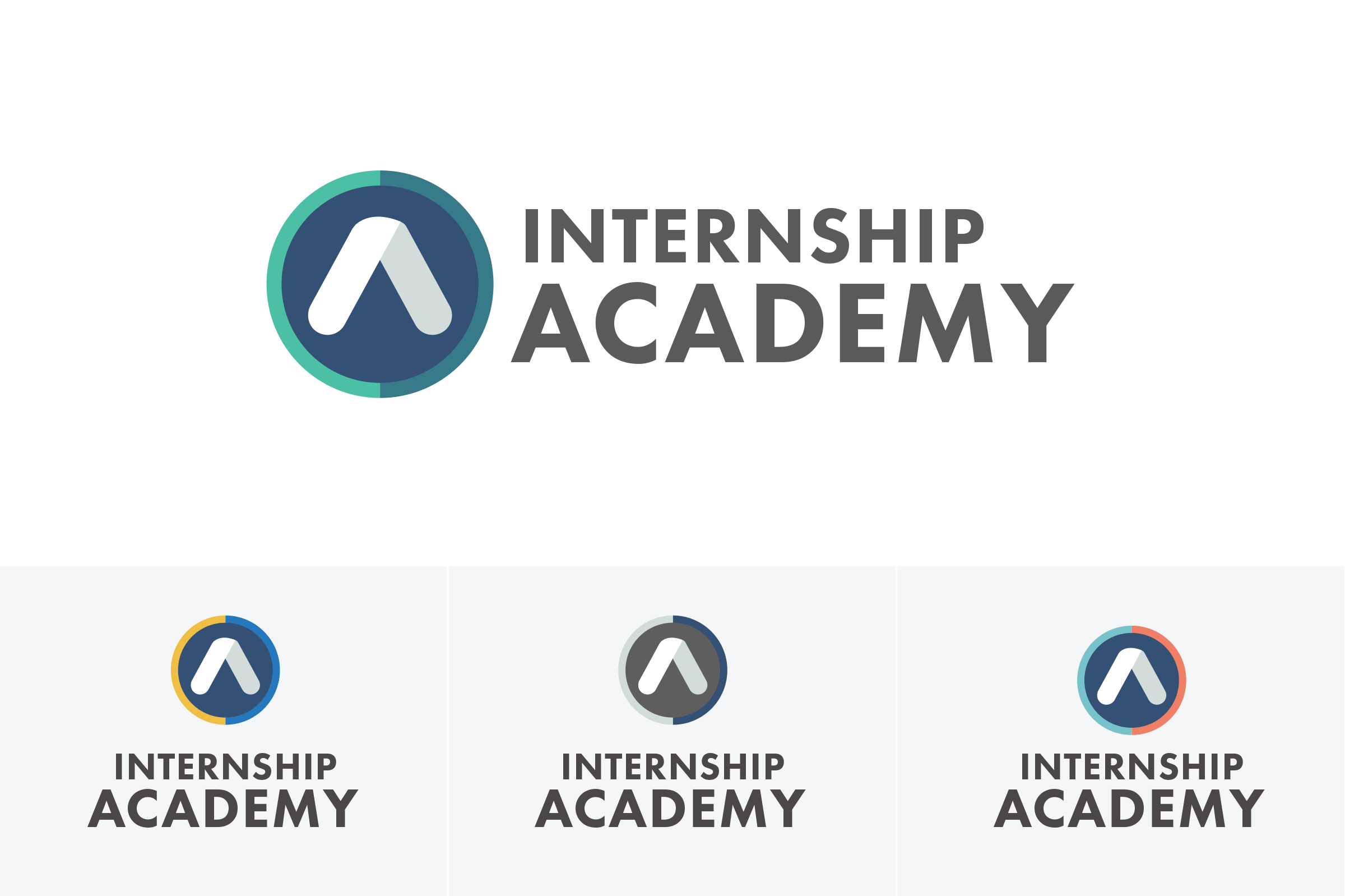 Internship Academy Logo Colors Min